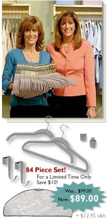 Save Space With Huggable Hangers